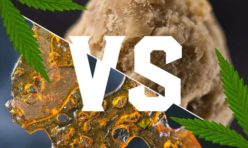 difference between wax and shatter
