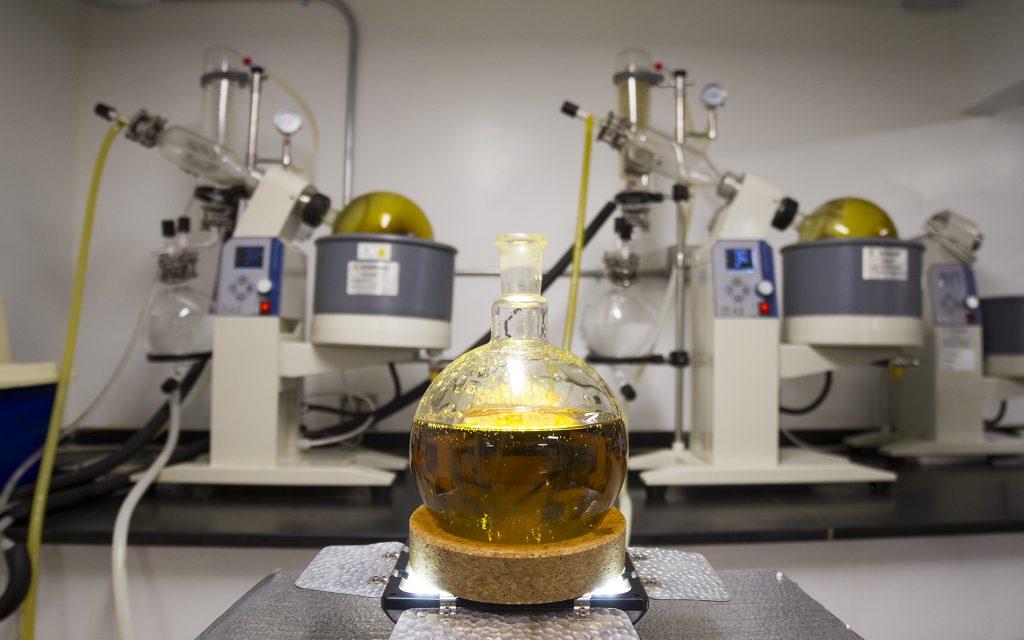 CO2 extraction process hemp