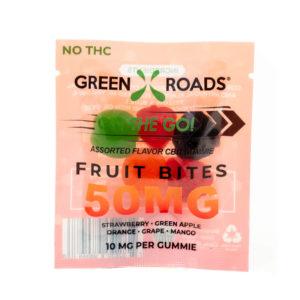 CBD Fruit Bites - 50 MG Image