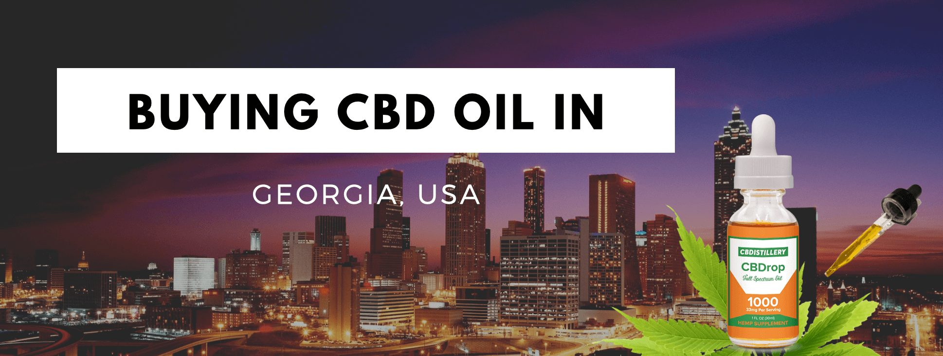 CBD oil Georgia