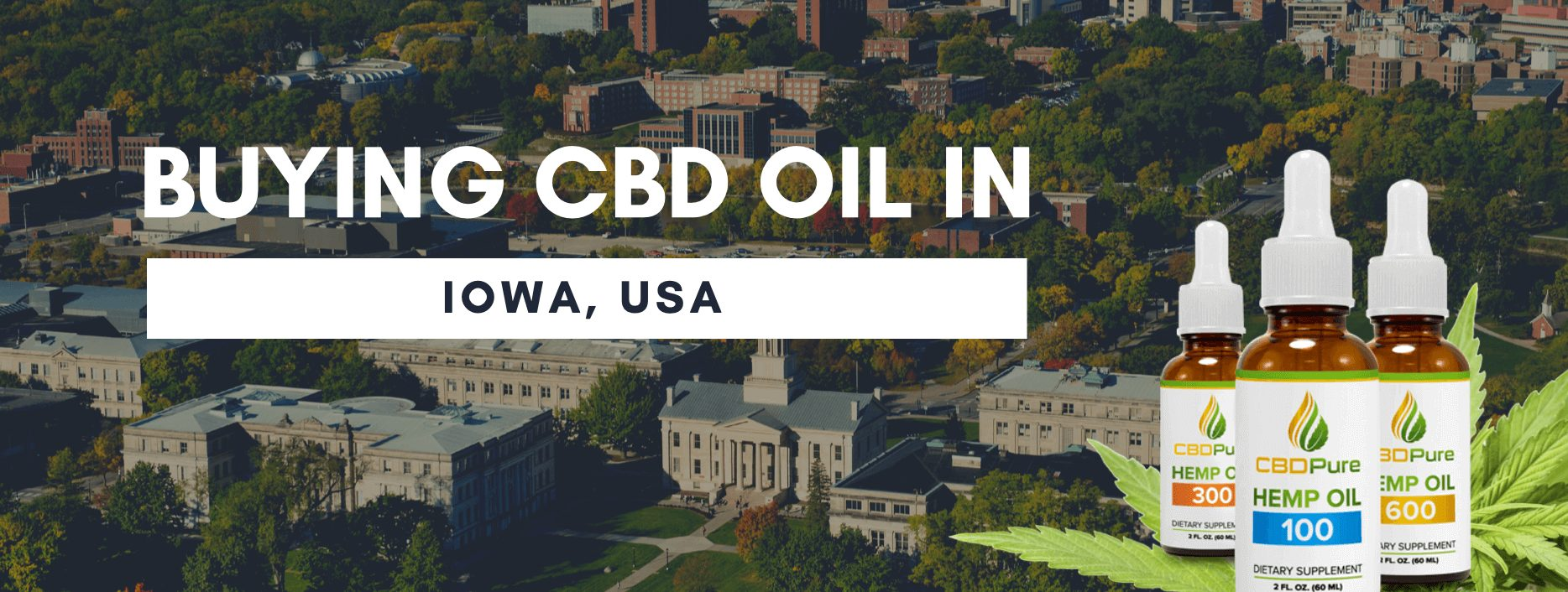CBD oil in Iowa