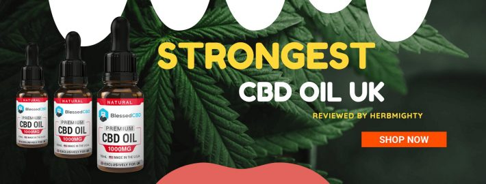 strongest CBD oil UK